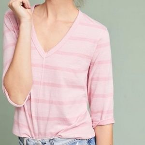 NWT $78 Anthropologie Roxanne Shifted Hem Tunic XS